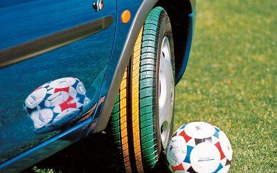 Porque não se vendem pneus coloridos?