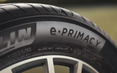 e.Primacy, o primeiro pneu Michelin neutro de CO2 no momento da compra