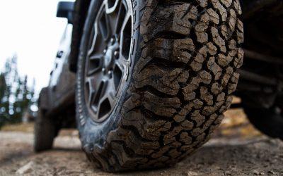 Qual a melhor pressão dos pneus para fazer todo-o-terreno?