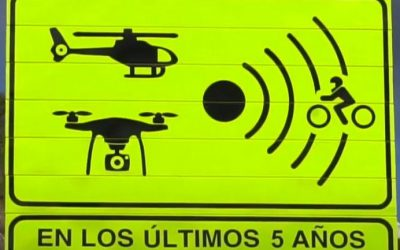 A sinalização que Espanha adotou para identificar vias mais perigosas