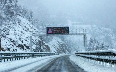 Sabia que existem correntes de neve para motos?